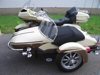 Harley Davison with Sidecar