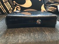 Xbox 360, comes with 3 games and one controller in good condition