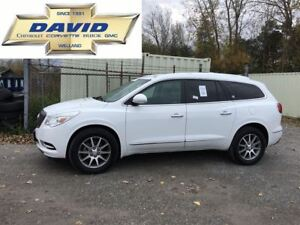 2017 Buick Enclave 1SL LEATHER AWD/ MOONROOF/ QUAD SEATS/ REMOTE