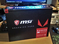 MSI AMD Radeon RX VEGA 56 8GB HBM2 Graphics Card ( new )