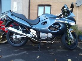 Suzuki gsx750f great condition has mot very reliable