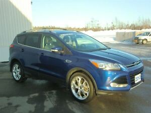 2013 Ford Escape Titanium-MOON-NAV-LOADED