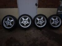 porsche wheel and tyres for sale
