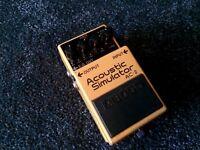 Boss AC-2 acoustic simulator guitar pedal