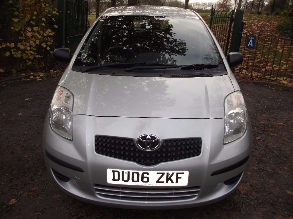 Toyota Yaris 1.4 D-4D T2 5dr 12 MONTHS WARRANTY FREE FREE NEW SHAPE £30 ROAD TAX PER YEAR