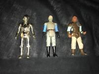 Vintage Star Wars Figures aaa