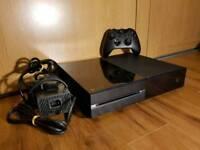 Xbox one black console