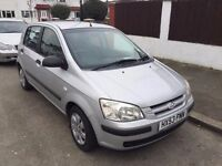 2003 Hyundai Getz Automatic 1.3 GSi 5dr.Brilliant Drive.New Mot. E/W. C/L.Cheap fuel,tax,insurance.
