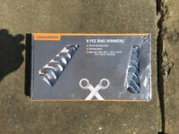 8 Piece Ring Spanners for £10