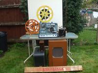 16mm BTH Projector, complete working cinema bundle.