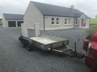 Ivor Williams plant trailer
