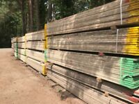 RECLAIMED SCAFFOLD BOARDS 3.9m x 225 x 38mm
