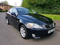 2007 LEXUS IS 220D DIESEL * STUNNING CAR * LONG MOT MARCH 2019 *