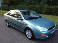 FORD FOCUS GHIA WITH LEATHER ALLOY WHEELS AIR CON CD PLAYER LONG MOT-WE CAN DELIVER TO YOU