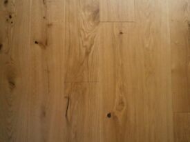 Engineered Oak Bevelled Matt Lacquer Flooring Planks x 10 Plus Off Cuts