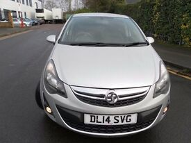 2014 VAUXHALL CORSA 1.4 SXI GENUINE LOW MILEAGE VERY ECONOMICAL GREAT CONDITION