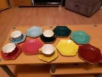 Royal Stuart - Spencer Stevenson china cups, saucers and plates