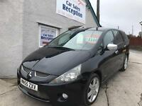 MITSUBISHI GRANDIS WARRIOR DI-D 7 SEATER FULL LEATHER £2395