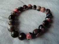 Multi coloured stretch bracelet