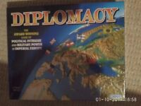 Diplomacy board game brand new