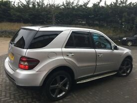 Top of the range Mercedes ml320 Cdi 10 edition (reduced)