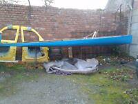Canoe 17 foot . Restoration project