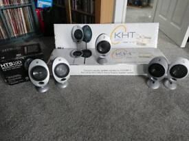 KEF Home cinema speakerd