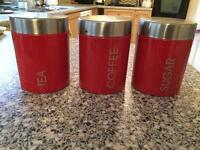3 x Canisters
