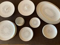 Vintage Mid-Century 'Script' Loewry Rosenthal Continental China dinner service
