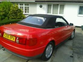 Audi 80 cabriolet future classic 25year old