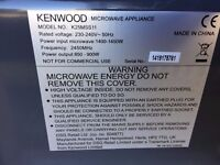 Kenwood 900w Microwave For Sale - Grey/Chrome/Black - Used Good Condition