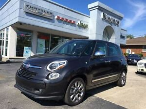 2015 Fiat 500L LOUNGE,LEATHER,PANO ROOF,BLUETOOTH