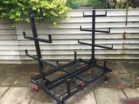 armorgard 3 Metre Pipe Rack 2 Ton for sale . lightly used like new 750 .