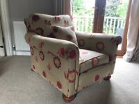 Hand made arm chair