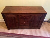 Solid Wood Capsbury Sideboard For Sale