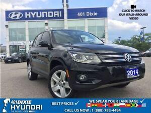 2014 Volkswagen Tiguan COMFORTLINE|NAVI|4 MOTION|BACK-UP CAM