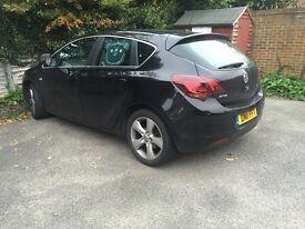 1.6 Vauxhall Astra 2011 12 months MOT