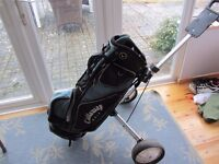 Callaway Stand Bag and Dunlop Golf trolley