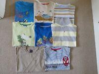 Eight Boys Quality T-shirts - Age 7/8