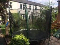 Free 8ft trampoline - slight damage