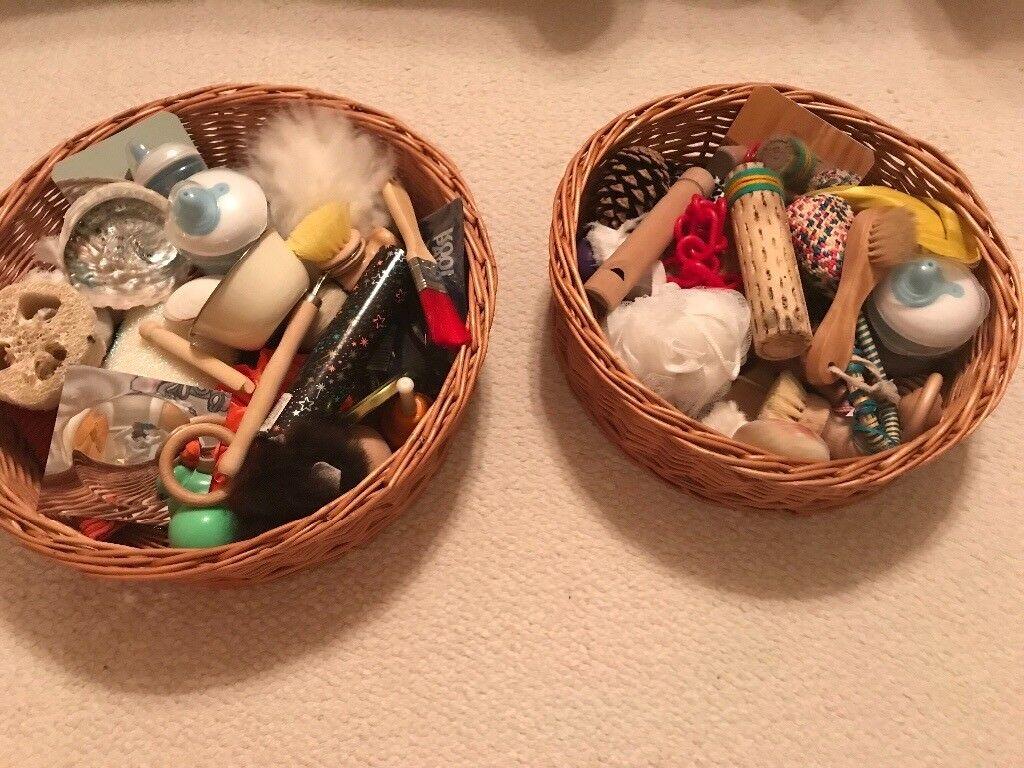 Baby Sensory Treasure Baskets