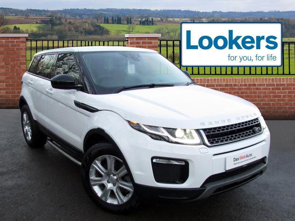 Land Rover Range Evoque Td4 Se Tech White 2017 03 14 In