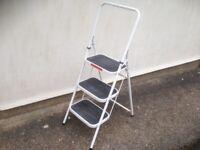 Step ladder vintage foldaway