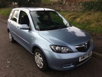 BARGAIN 2007 MAZDA 2 LONG MOT CHEAPER PX WELCOME £495