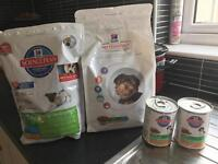 HILL PUPPY FOOD NEVER OPENED BOUGHT LAST WEEK.