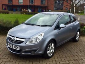 Vauxhall Corsa 1.4 Design 3Door with only 76000 Miles and service history