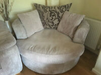 Large 2 seater DFS Cuddle Chair / Sofa - Very good Condition