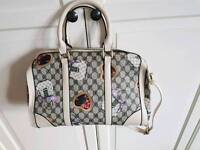 Gucci style bag mainly cream