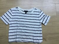 Forever 21 stripe top size S