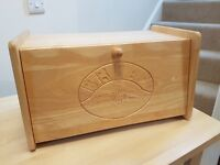 Marks and Spencer Solid Wood Bread Bin